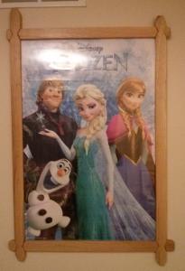 Frozen Poster Frame