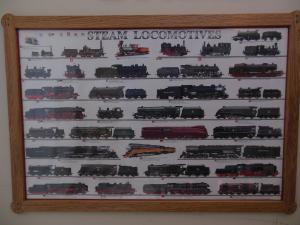 Train Poster Frame