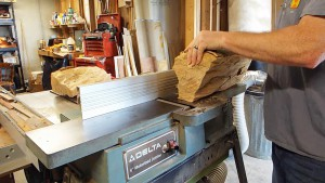 Firewood on the Jointer