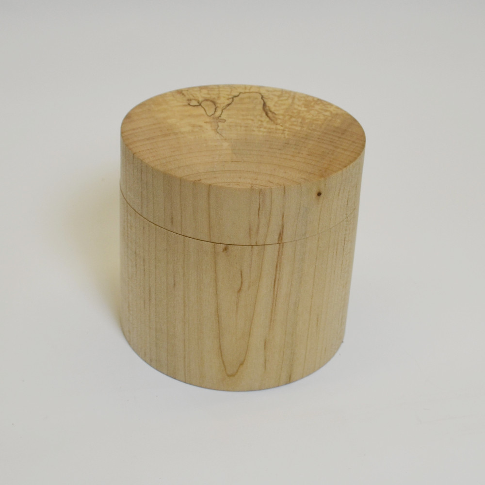 Spalted Maple Lidded Box