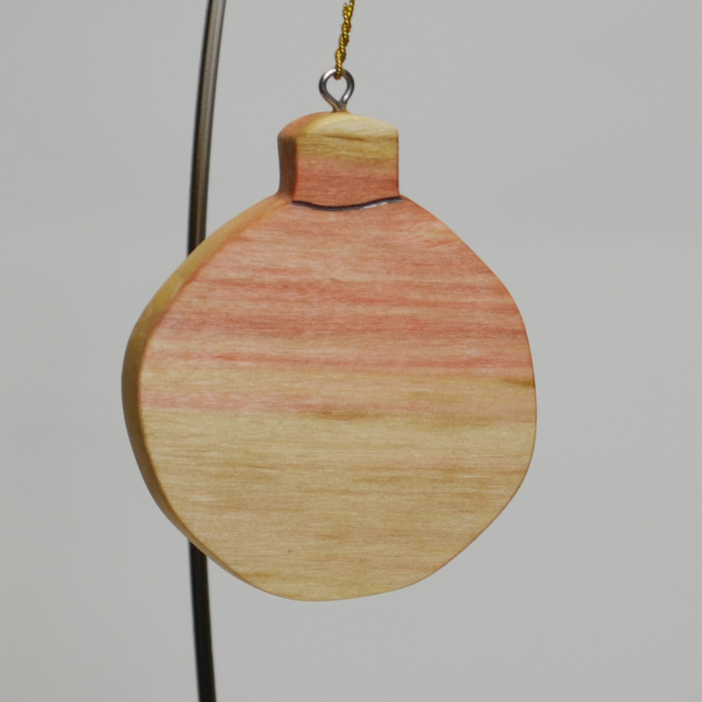 Bulb Ornament in Box Elder