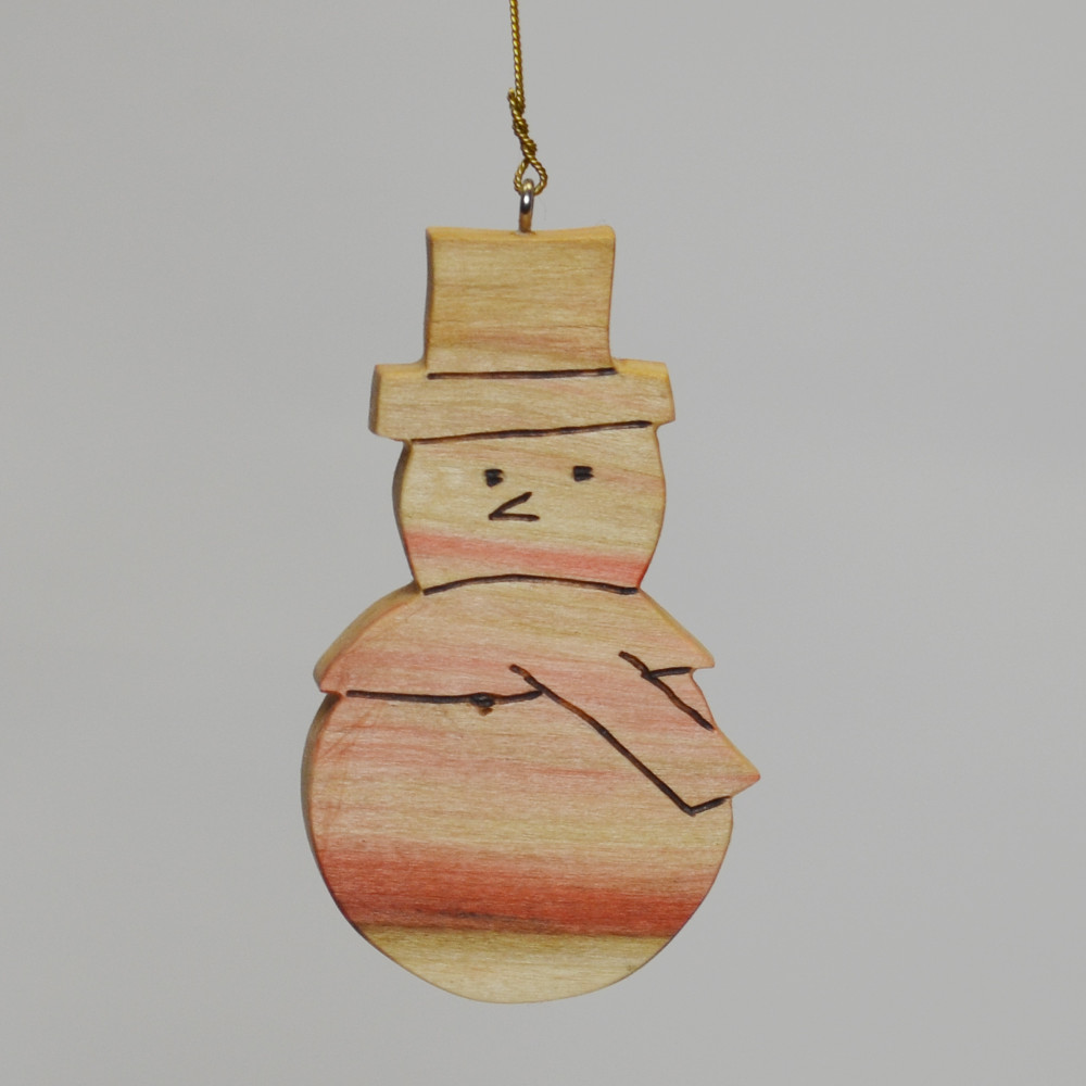 Snowman in Box Elder